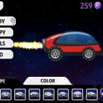Lunar Racer (iPad 2) - Garage