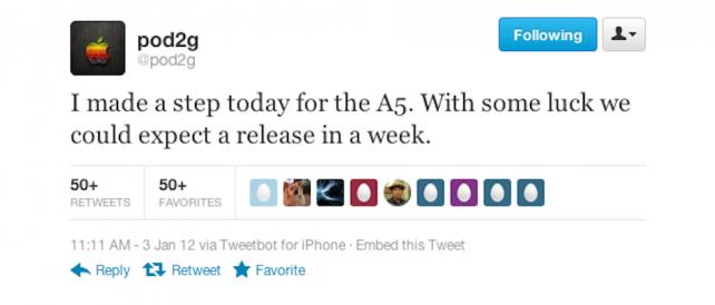 Jailbreak pro iPad 2 a iPhone 4S možná příští týden