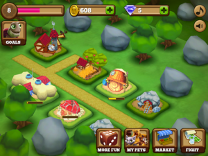 Pets vs Orcs by Supercell screenshot