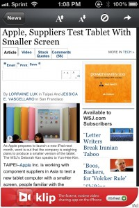 NewsFlash ~ Breaking News & World Headlines RSS Reader by Sollico Software screenshot