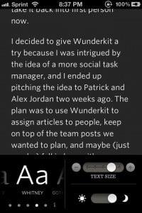 Readability™ by Readability, LLC screenshot