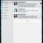 Conversation view in Osfoora for Mac