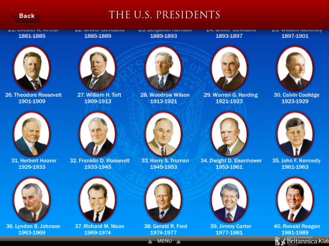 Pics For All Presidents In Order