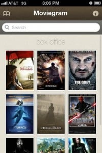 Moviegram by Steven Waterfall screenshot
