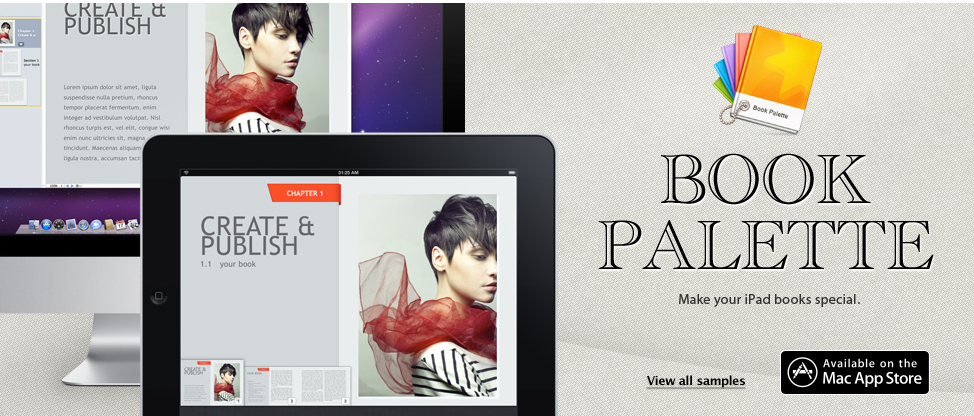 Palette Adds 10 New Templates To iBooks Author