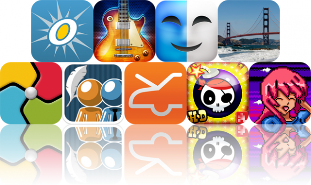 iOS Apps Gone Free: OSnap!, History Of Rock, Face Fun, And More