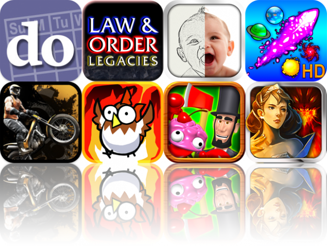 iOS Apps Gone Free: Do Date, Law &amp; Order: Legacies, Sketch Me!, And More