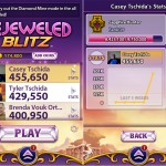 Bejeweled Blitz version 1.15 (iPhone 4) - Leaderboard and Stats