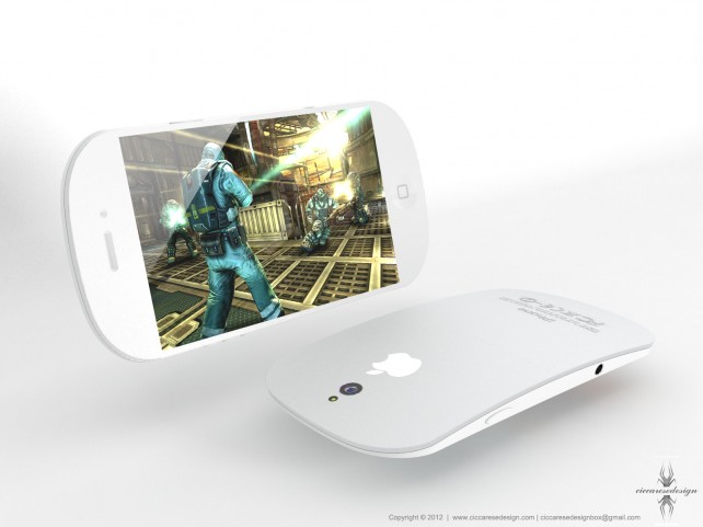 The Curved iPhone 5 Concept