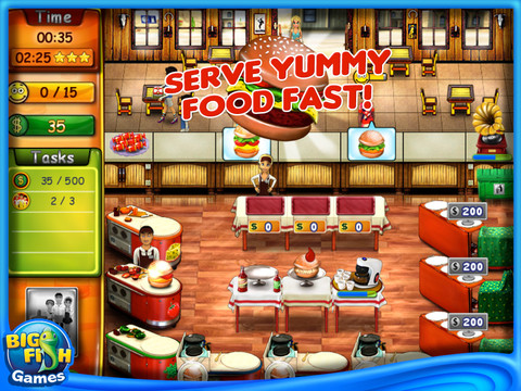 Burger bustle hd yet more time management for Big fish games manager