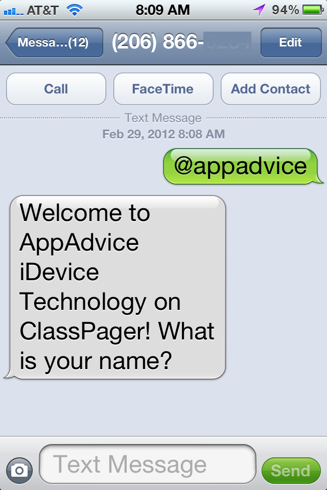 Sign Up for ClassPager