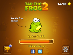 Tap The Frog 2 by Playmous screenshot