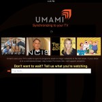 Umami version 1.2 (iPad 2) - Sync and Search