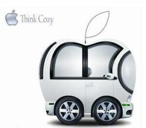 This ISN'T an Apple iCar ...