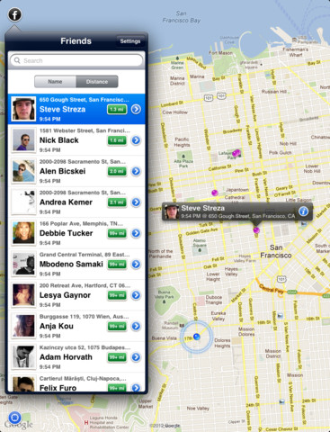 An App That Shows Your Real-Time Location To Your Facebook Friends: Like Or Dislike?