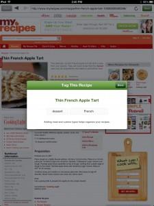 Basil—A Smart Recipe Book For iPad by Kyle Baxter screenshot