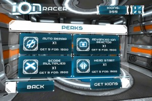 Ion Racer by SGN screenshot