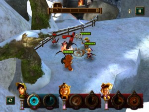 Kids vs Goblins by Crescent Moon Games screenshot