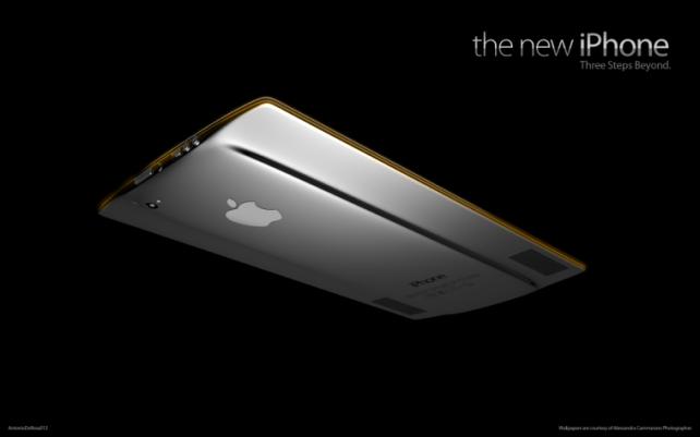 Koncept iPhonu s 4,6 palcovým displejem
