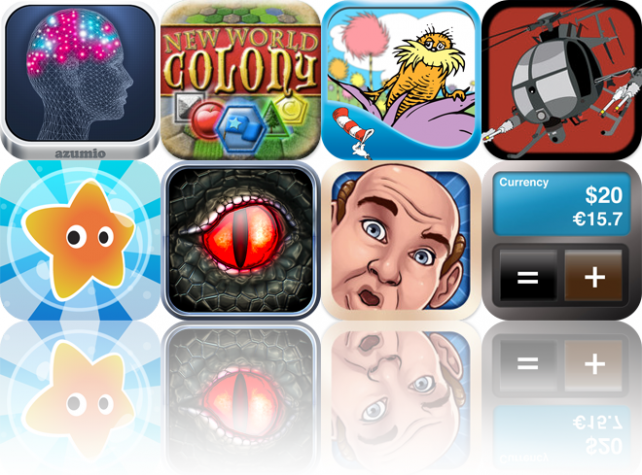 Today's Apps Gone Free: Stress Doctor, New World Colony, Lorax Garden, And
