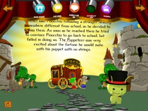 Bean Bag Kids present Pinocchio (iPad 2) - Interactive