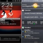 DataMan Pro version 5.0 (iPhone 4) - Notifications