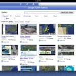 Google Earth version 6.2 (iPad 2) - Earth Gallery