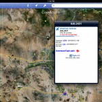 Google Earth version 6.2 (iPad 2) - Flights