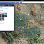 Google Earth version 6.2 (iPad 2) - Trails