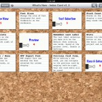 Index Card version 3.0 (iPad 2) - Grid View