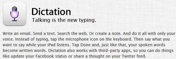 Dictation