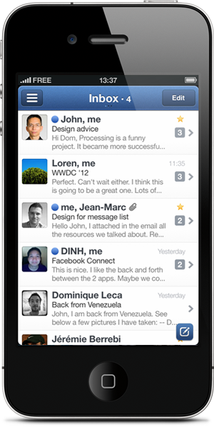 Sparrow Is The Best Email App For Your iPhone Since Apple's Own