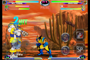 MARVEL VS. CAPCOM 2 by CAPCOM screenshot