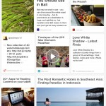 The new grid view allows you to see a lot more of your saved content.