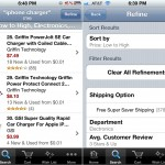 Amazon Mobile version 1.9 (iPhone 4) - Search and Refine