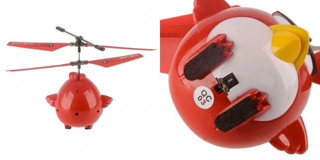 Angry Birds Helicopter - Unique Features