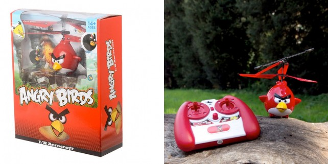 Angry Birds Helicopter - Package