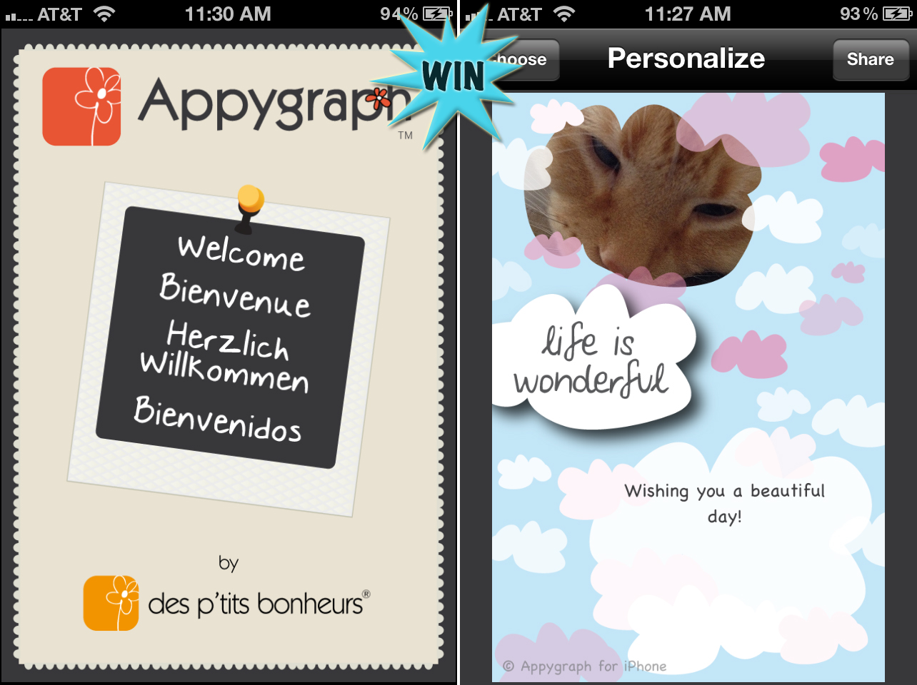 A Chance To Win A 10 Itunes Gift Card To Be Used Towards Appygraph