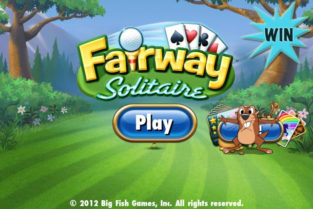 a chance to win the full version of fairway solitaire for