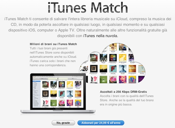Apple Launches iTunes Match Service In More Countries