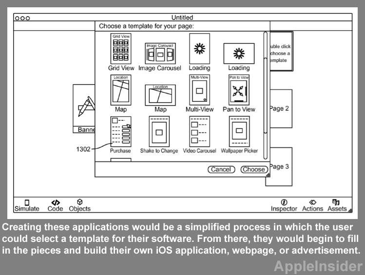 Apple má patent na program pro tvorbu aplikací