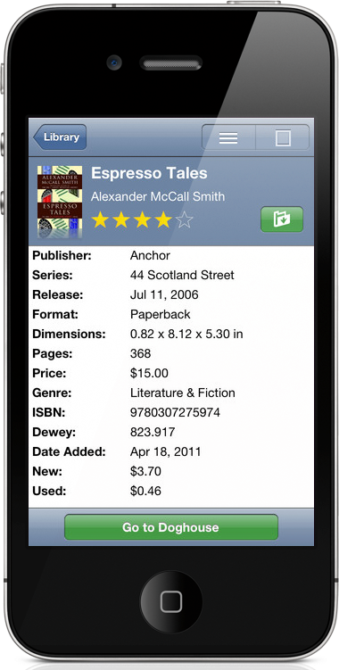 Pocketpedia3 on iPhone
