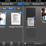 Scanner Pro version 4.0 (iPhone 4) - Folders