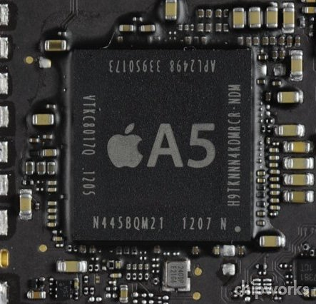 32nm A5 in iPad 2,4 (Source: Chipworks)