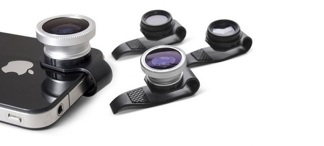 Gizmon Clip on Lenses 500x289 Gizmon's Clip On Camera Accessories For iPhone Stand Out From The Competition