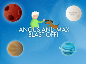 Angus and Max Blast Off! - a deep space adventure by Hamson Design Group Pty Ltd screenshot
