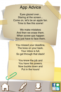 Pocket Poet by Fairlady Media screenshot