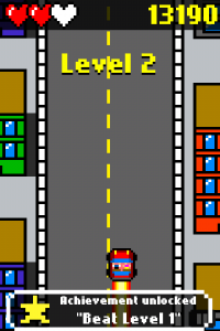 Drive and Jump: 8-bit retro racing action by Stephen Ceresia screenshot