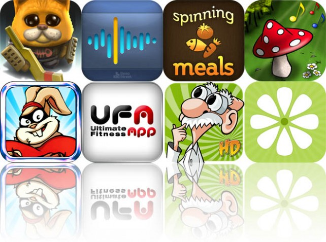 Today's Apps Gone Free: Ice Rage, SunrizerXS Synth, Spinning Meals, And More