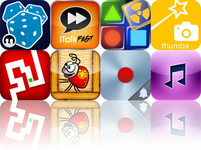 Today's Apps Gone Free: Dice With Buddies, iTalkFast Pro, Super Gloo, And More
